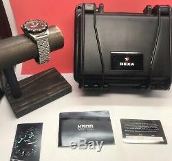 Hexa K500 Premier Edition 500 Diver 44mm Automatique Édition Limitée De 500 Pièces