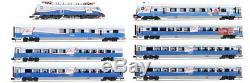 Hobbytrain H25214 + H25215, Set De 8 Pièces Railjet Ski Austria, Jauge N, Nouvel Ovp