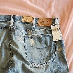 Hommes Polo Ralph Lauren Distressed Patch Sullivan Slim Fit Camo Jeans Ltd. Edition