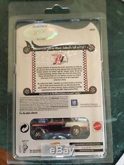 Hot Wheels 2016 Rlc'55 Chevy Bel Air Gasser Adhésion Voiture Avec Patch & Bouton