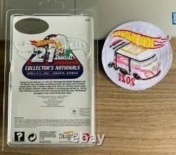 Hot Wheels 21st Nationals Convention 2021 Pink & White Kool Kombi Rr Avec Patch