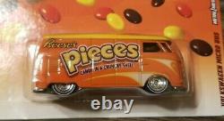 Hot Wheels Pop Culture Volkswagen Micro Bus Hersheys Reeses Pièces Très Rares