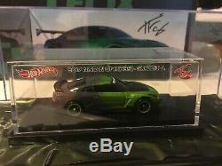 Hot Wheels Tfox Autographié Nissan Gt-r R35 Guaczilla Avec Piece A De Voiture