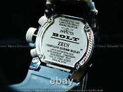 Invicta 52mm Bolt Zeus Magnum Ocean Quest Swiss Chrono Avec Montre Strap4 Pièces
