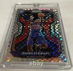 Isaiah Stewart 2020-21 Panini Prizm Rc. Lucky Envelope 3/8. Uniquement 8 Dans Le Monde