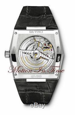 Iwc Vintage Da Vinci Automatique Platine Rare Edition Limitée 500 Pièces Iw546105