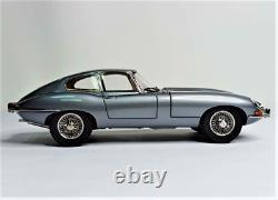 Jaguar E-type Dark Gray 118 Kyosho Très Rare 100 Pièces Libérées