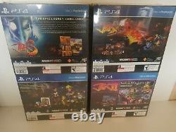 Jak Et Daxter, Jak Ii, Jak III & Jak X Limited Run Collectors Edition&plus Ps4