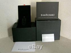 Jeanrichard Paramount XL Retro Lune Ltd 50 Pièces 36.5x50mm 13500 $ Nib