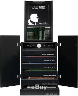 Karlbox Limited Edition - Ensemble De 2 500 Crayons Faber Castell Pour Artistes