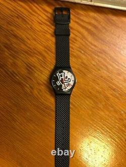 Keith Haring Swatch 1988 Milles Pattes Gz103 Limité À 9999 Pièces Dans Le Monde Entier