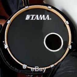 Kit De Batterie Tama Superstar Custom Efx Édition Limitée 4 Pièces + Accessoires