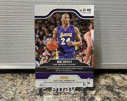 Kobe Bryant Panini Prizm 2019-2020 Montres Sensationnelles Lakers Couleurs