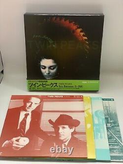 Laserdisc Twin Peaks Boîte 3 Pièces Ensemble Complet Withobi Japon Ver Rare David Lynch