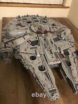 Lego Star Wars Ucs Millennium Falcon 75192 Menthe (seulement Construit Une Fois) 7500 Pièces