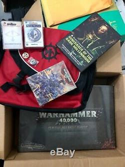 Limited Edition / Rare Warhammer 40k Morceaux Non Ouverts Lot