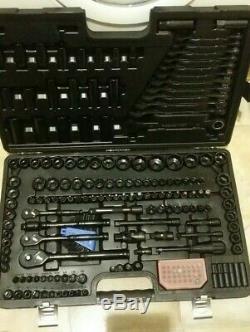 Limitée Black Edition 200 Pièces De Douilles À Cliquet Spanners Disjoncteur Bar Halfords