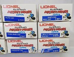 Lionel 6-8773 Mickey Mouse Express 15 Piece Set Fret Neuf Dans La Boîte