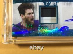 Lionel Messi Et Pele 2020 Feuille Superlative Double Auto Patch Édition Limitée. 2/5