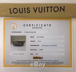 Louis Vuitton Limited Edition Monogram Denim Patch Poche En Poche Épaule Noire
