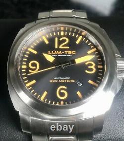 Lum-tec M68 Automatique 44mm Sunburst Dial Limited Edition 175 Pièces 300m Plongeur