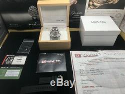 Lum-tec M68 Automatique 44mm Sunburst Dial Limited Edition 175 Pieces Bracelet