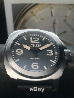 Lum-tec M75 Titanium Edition Limitée Swiss Eta 2824 Automatique 44mm 85 Pièces
