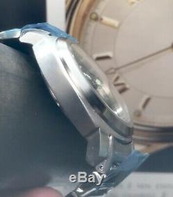 Lum-tec Suisse M81 Automatique 44mm Bracelet Cadran Noir Limited Edition 100 Pièces