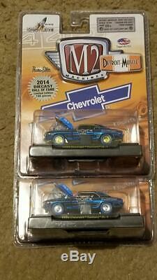 M2 Machines 2014 Coulée Sous Pression 2x Hall Of Fame 1969 Camaro Zl-1 Ltd. À 108/492 Pièces