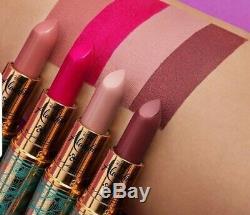 Mac Cosmetics Aladdin Collection / Lipsticks Tous Les 4 Pièces