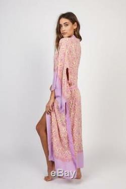 Magie Et The Gypsy Diamond Eyes Jewel Maxi Kimono Os Bnwt