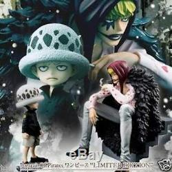 Megahouse One Piece Figure Portrait De Pirates Pop Corazon & Law Édition Limitée