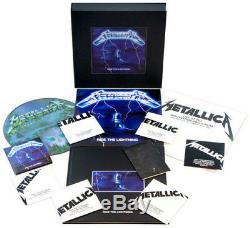 Metallica Ride The Lightning (nouveau Coffret De Luxe) Nouveau Patch Vinyle Lp, Avec Cd,