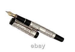 Michael Fultz Pour Parker Limited Edition Silver Fountain Pen/ 500 Pièces