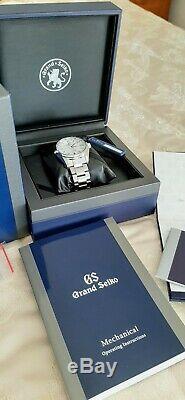 Mint Grand Seiko Sbgr319 Limited Edition (350 Exemplaires Dans Le Monde) Jeu Complet