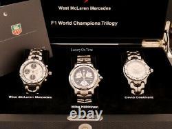 Mint Tag Heuer 1998 F1 World Champions Trilogy Edition Limitée De 50 Pièces