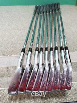 Mizuno Pro Ms-801 Dg-r400 # 3-p + Sw (9x Pièces) Nickel Ltd Edition / Yoro Rare