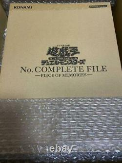 Monstres Yu-gi-oh, Non. Dossier Complet - Piece Of Memories- Limited Japonais