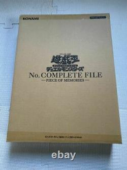 Monstres Yu-gi-oh, Non. Dossier Complet - Piece Of Memories- Limited Jp Japonais