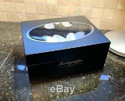 Montegrappa Ltd Ed Black Batman 3 Rollerball Set Piece (pen, Watch, Boutons De Manchette)