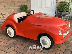 Morris Minor Junior Pédale Car Limited Edition One 56 Pièces Austin J40