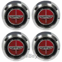 Neuf 1970-77 Ltd Capuchons De Centre De Roue 4 Pièces Magnum 500 1970-71 Torino Ford