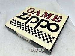 New Zippo 1994 Limited Edition Jeu Échiquier Magnétique Briquet Avec Pièces Set