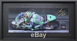 Nicky Hayden Signée À La Main 2014 Piece D'un Framed Champion, Limited Edition