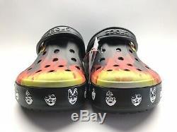 Nouveau Bayaband Baiser Crocs Chaussures Hommes Taille 8m Souvenirs Limited Edition 5 Pièces