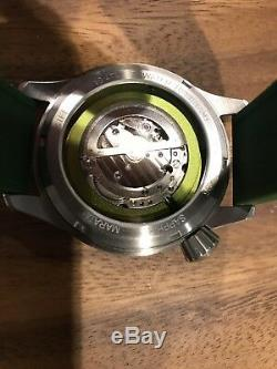 Nouveau Maratac Large Pilot Arc Watch 1/50 Pièce En Édition Limitée Stérile Militaire