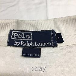 Og 90 Vtg Polo Ralph Lauren Cp93 Colorblock Rugby Shirt Mens Grand Salut Tech 92