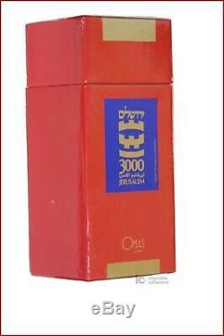 Omas Jerusalem - Or 18 Carats - 3000 Ans - Édition Limitée 1996/500 Pièces