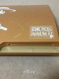 One Piece Console Playstation 3 Japan Gold Limited Edition Excellent Rare