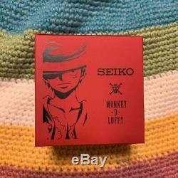 One Piece Seiko Montre La Collaboration 20e Anniversaire Édition Limitée Super Rare